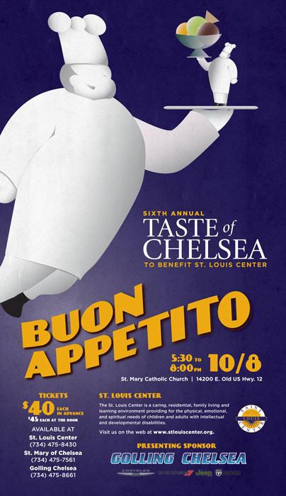Taste of Chelsea 2016 Poster
