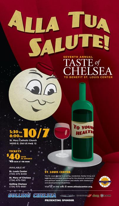 Taste of Chelsea Poster 2017